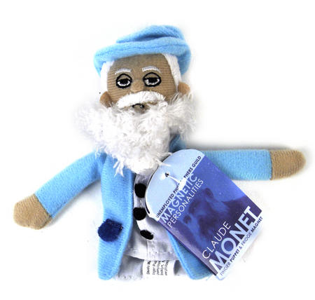 Claude Monet Finger Puppet & Fridge Magnet