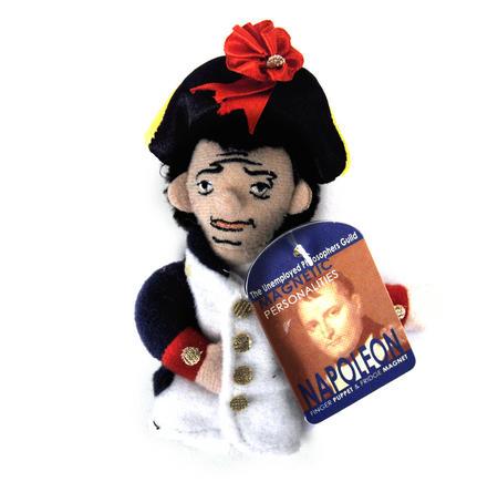 Napoleon Finger Puppet & Fridge Magnet