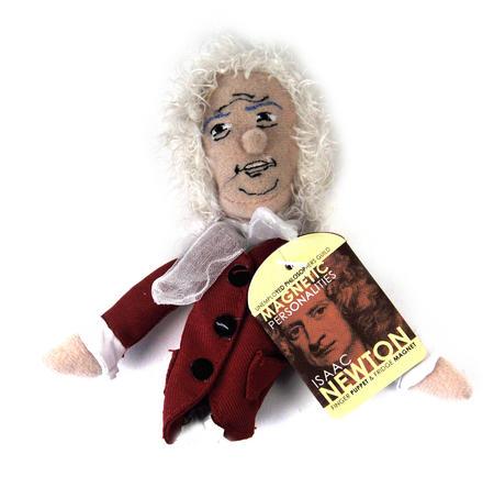 Issac Newton Finger Puppet & Fridge Magnet