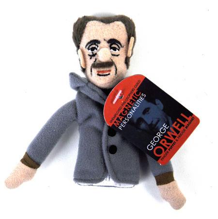 George Orwell Finger Puppet & Fridge Magnet