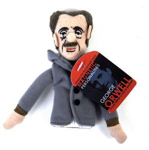 George Orwell Finger Puppet & Fridge Magnet Thumbnail 1
