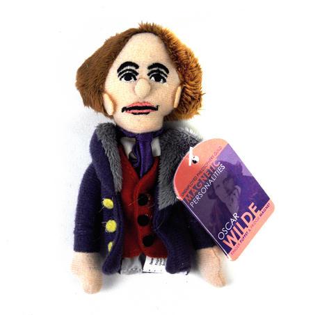 Oscar Wilde Finger Puppet & Fridge Magnet