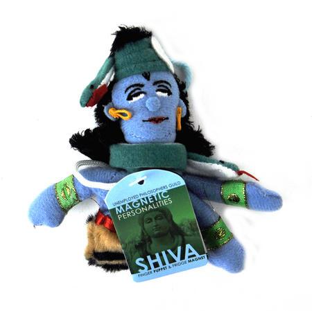 Shiva Finger Puppet & Fridge Magnet