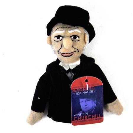 Winston Churchill Finger Puppet & Fridge Magnet