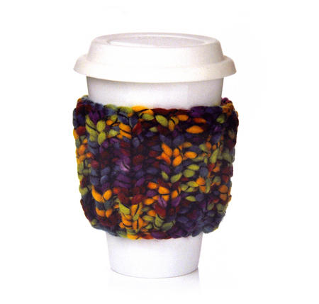 Knit Kit - Take Out Cup Cosy