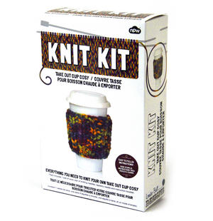 Knit Kit - Take Out Cup Cosy Thumbnail 2