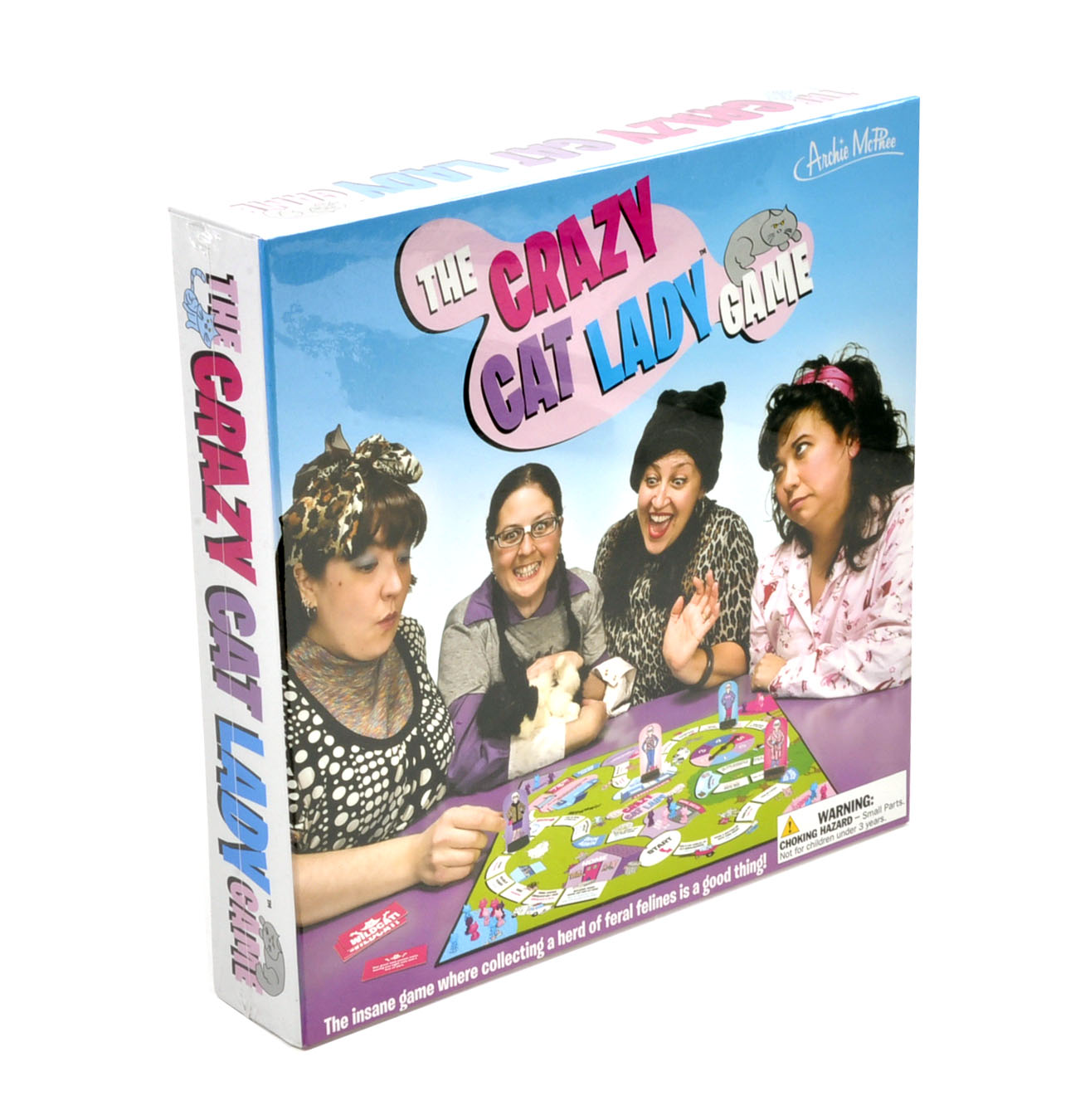 Crazy Cat Lady Board Game | Pink Cat Shop