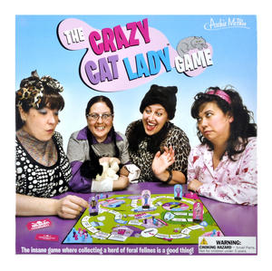 Crazy Cat Lady Board Game Thumbnail 1