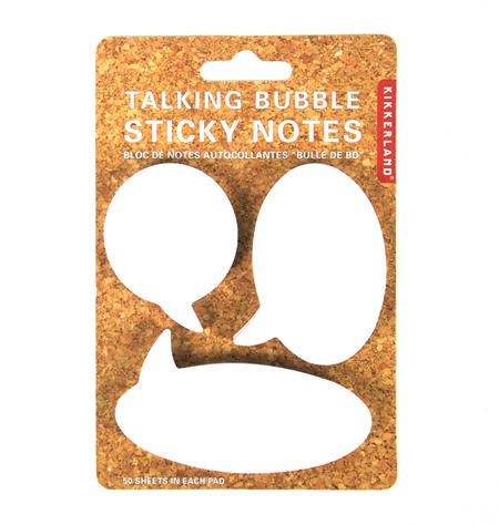 Talking Bubble Sticky Notes