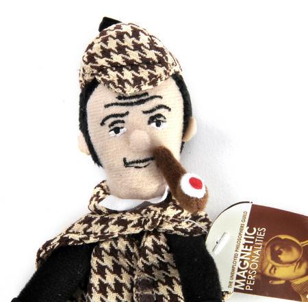 Sherlock Holmes Finger Puppet & Fridge Magnet