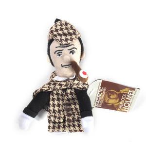 Sherlock Holmes Finger Puppet & Fridge Magnet Thumbnail 2