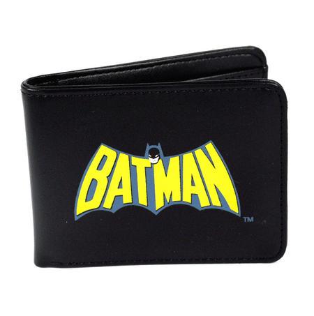 Batman Retro Logo Bi-Fold Wallet