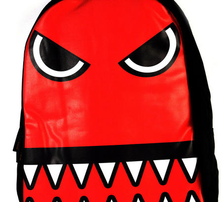 Red Monster Backpack