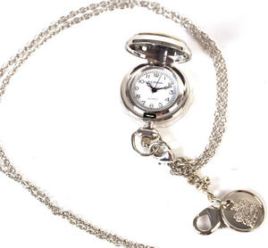 Ladies Pendant Watch With Celtic Never Ending Knot Thumbnail 3