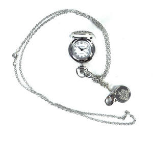 Ladies Pendant Watch With Celtic Never Ending Knot Thumbnail 5