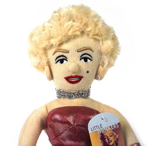Marilyn Monroe Soft Toy - Little Thinkers Doll Thumbnail 1