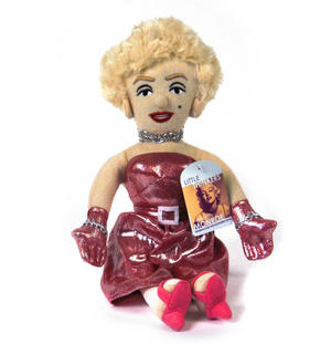 Marilyn Monroe Soft Toy - Little Thinkers Doll Thumbnail 2