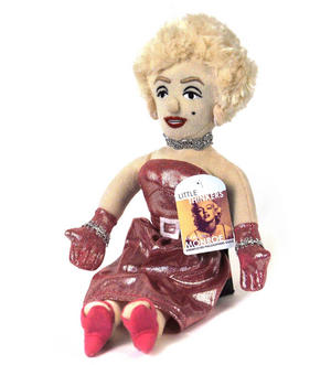 Marilyn Monroe Soft Toy - Little Thinkers Doll Thumbnail 3