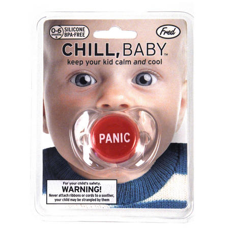 Chill Baby - Panic Button Dummy Pacifier