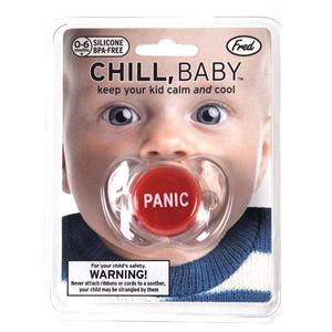 Chill Baby - Panic Button Dummy Pacifier Thumbnail 1