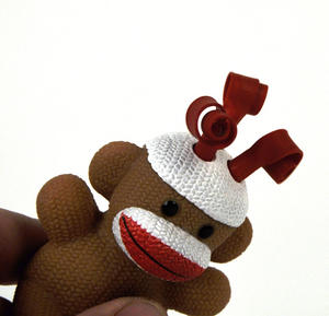 Sock Monkey Curly Pops Thumbnail 5