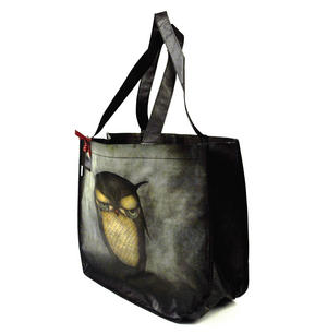 Night Owl Woven Shopper Bag Thumbnail 3
