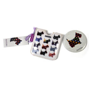 Scottie Dogs Compact Pocket Handbag Mirror Thumbnail 5