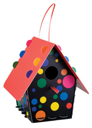 Diy Bird House - Dots Design Thumbnail 1