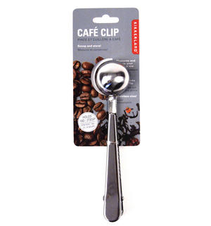 Café Bag Clip - Stainless Steel Coffee Measure Thumbnail 2