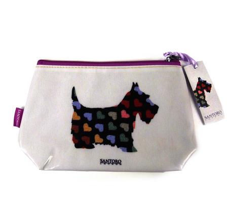 Scottie Dogs Make Up Bag / Wash Bag