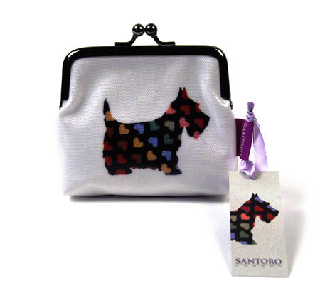 Scottie Dogs Snap Purse