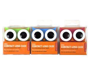Owl Contact Lens Case - Random Colours Thumbnail 1