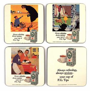Pg Tips 4 Coaster Set