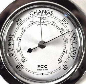 Classic Chrome Barometer 110Mm 1506Bch Thumbnail 1