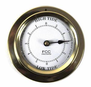 Classic Brass Tide Clock 110Mm 1506Td Thumbnail 1