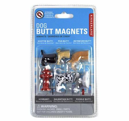 Dog Butt Fridge Magnets