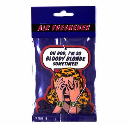 Air Freshener  - Oh God, I'm So Bloody Blonde Sometimes!