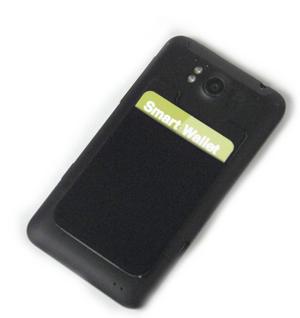 Smart Wallet - Purple Neoprene Phone Pocket Thumbnail 2