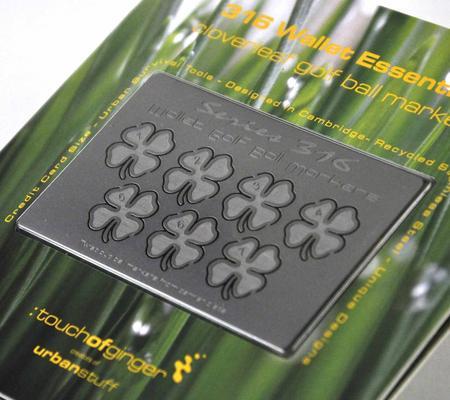 Wallet Essentials - Cloverleaf Golf Markers