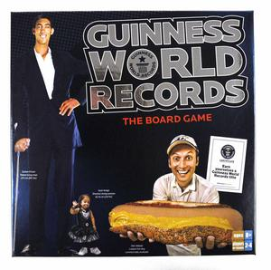 Guinness World Records Board Game Thumbnail 1