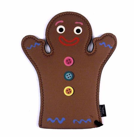 Oven Mitt - Gingerbread Man