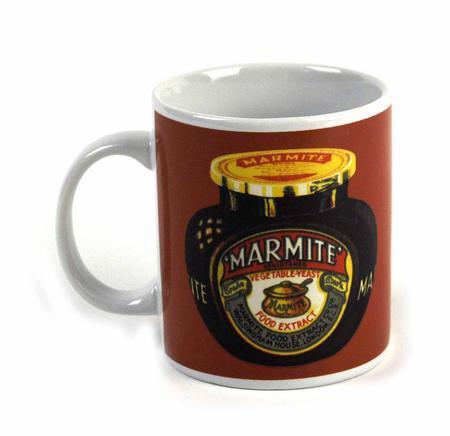 Marmite Jar Retro Mug | Pink Cat Shop
