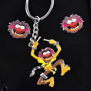 Animal Muppets Deluxe Wallet, Key Ring & Cufflinks Set Thumbnail 6