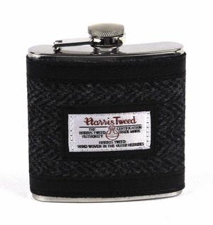 Harris Tweed Hip Flask Thumbnail 1