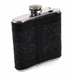 Harris Tweed Hip Flask Thumbnail 2
