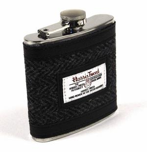 Harris Tweed Hip Flask Thumbnail 3