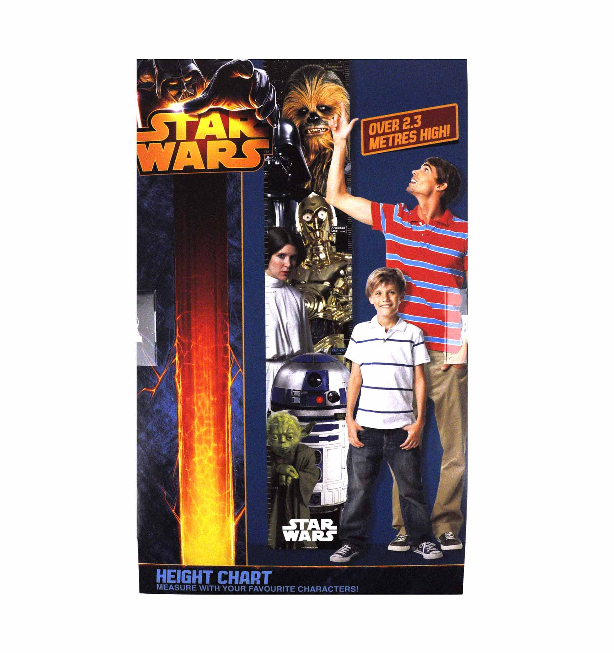 Star Wars Height Chart Pink Cat Shop