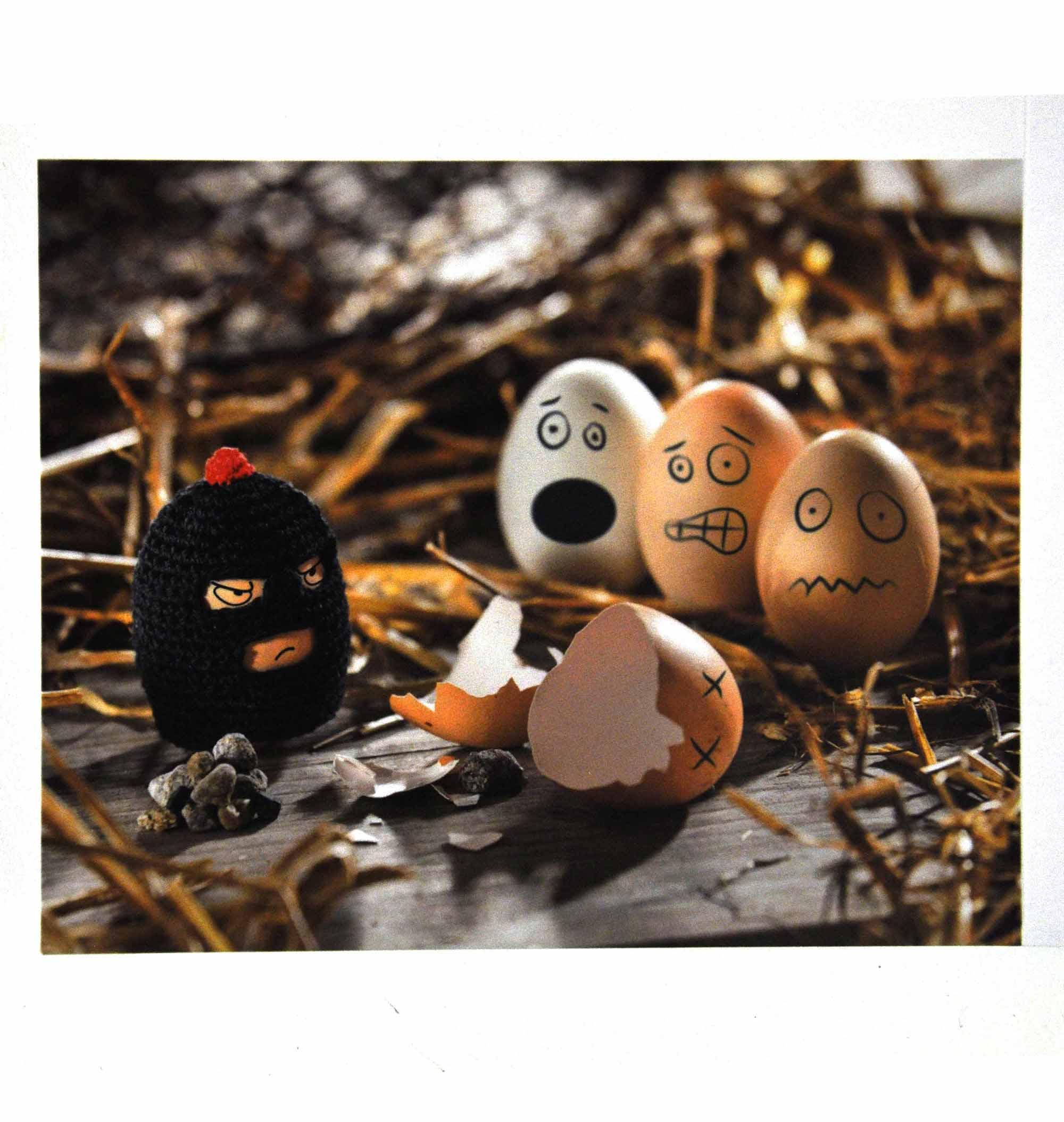 Terrorist Egg Cosy Egg Bandit Egg Warmer Pink Cat Shop