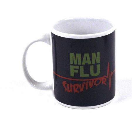Man Flu Survivor Mug
