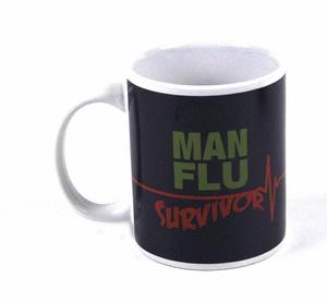 Man Flu Survivor Mug Thumbnail 1